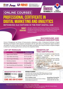 Professional Certificate in Digital Marketing And Analytics