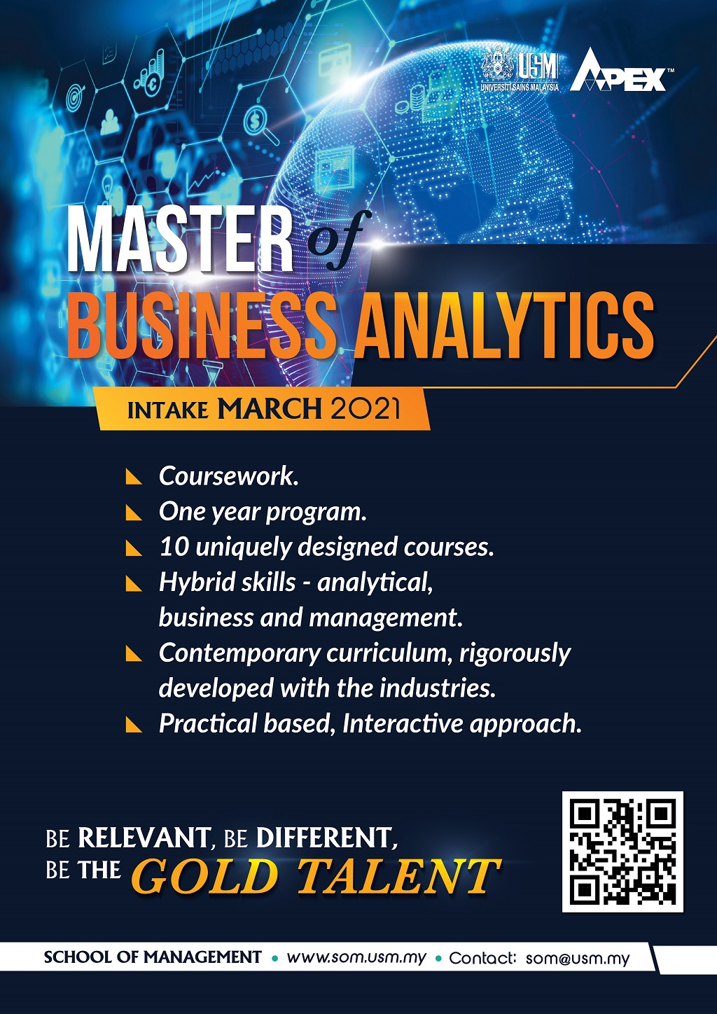 Poster MBIZ Intake March 2021